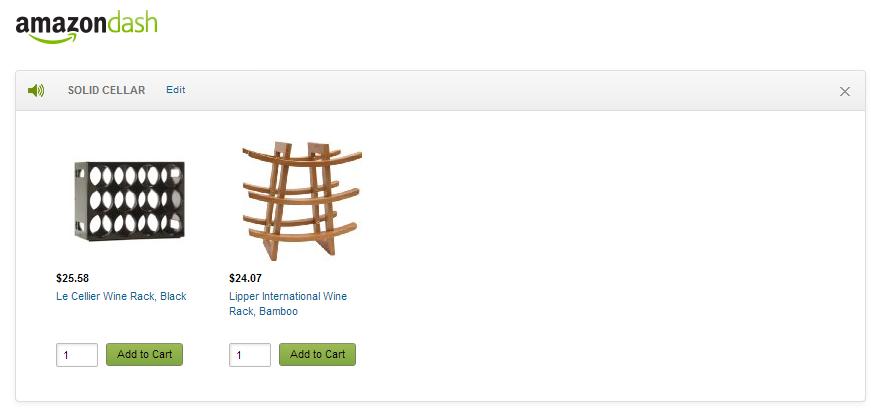 Amazon Dash - Solid Seller
